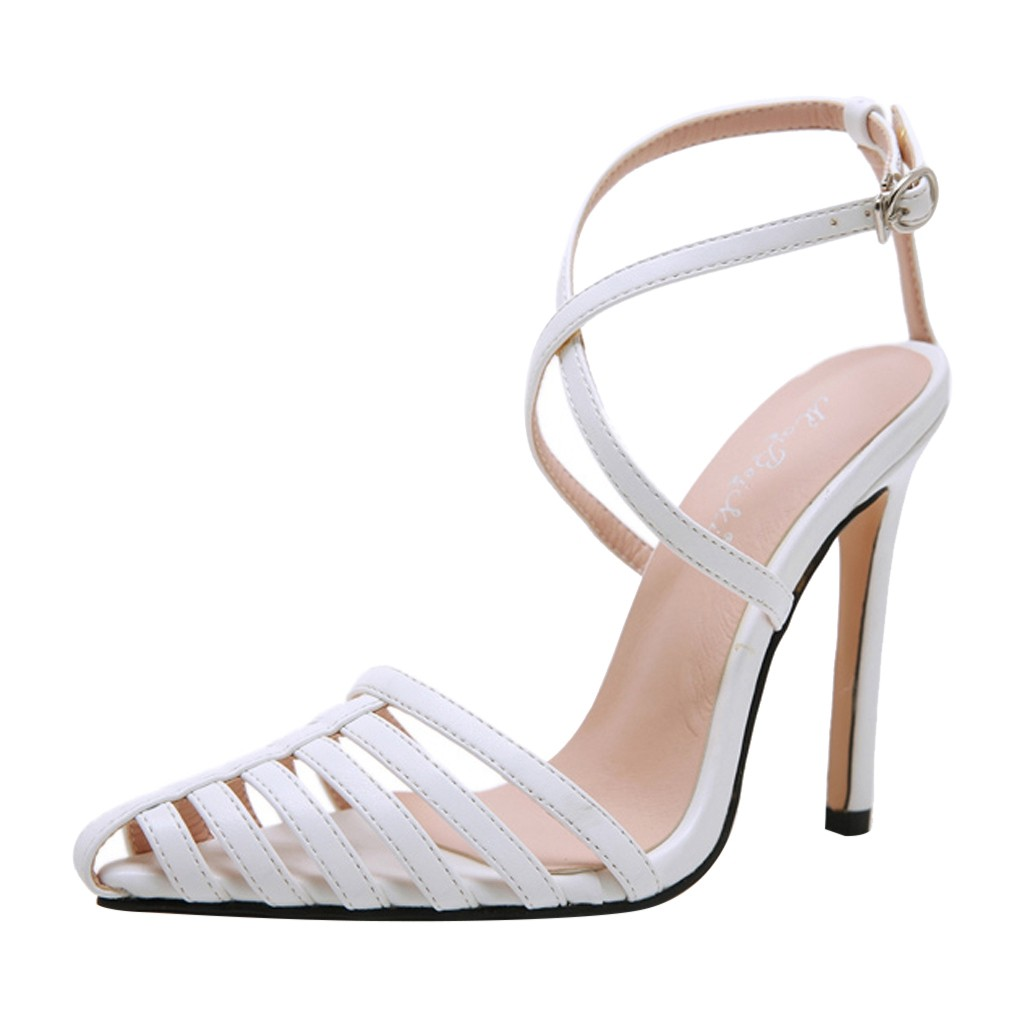 Jaycosin shoes Women Summer Sandals Casual Fashion Nightclub Sandals With Open Toe formal High Heels Shoes 2019 1