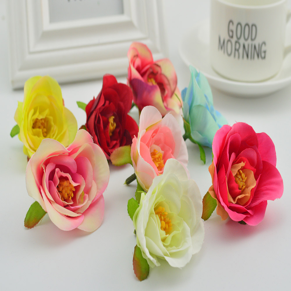 100pcs cheap artificial plastic flower head for home wedding 100pcs cheap artificial plastic flower head for home wedding decoration fake peonies box gift diy garlands silk roses stamens izmirmasajfo