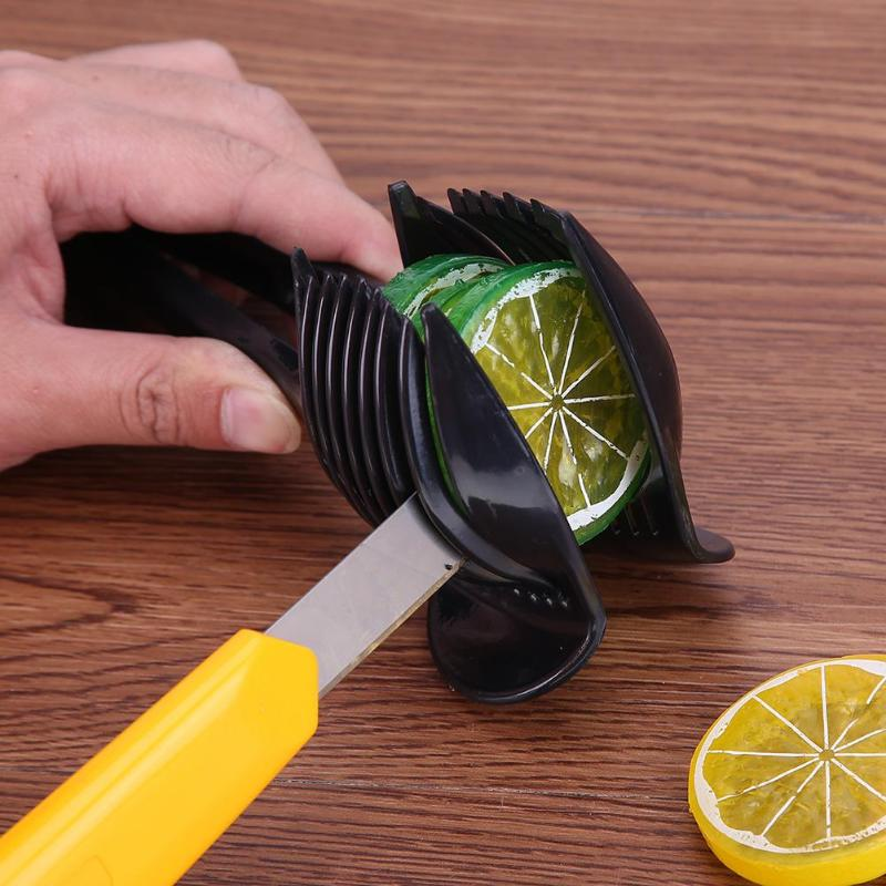 Plastic Potato Cutter Tomato Slicer Lemon Fruit Shredders Clamp Holder Slicer Shredders Clamp Holder Cooking Tools ...