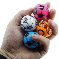 5pcs Random Fashion Mini Soccer Ball Pencil Sharpener Creative Trend Football Shape Pencil Sharpener For Kids Gift Pencil Sharpeners