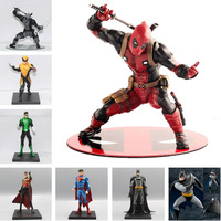1/10 Scale Batman Green Lantern Red Robin Wonder Woman Thor Superman Action Figures Toy Pre Painted Model Kit ARTFX+STATUE