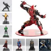 1/10 Scale Batman Green Lantern Red Robin Wonder Woman Thor Superman Action Figures Toy Pre Painted Model Kit ARTFX+STATUE