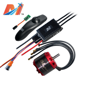 Maytech electric motorcycle parts 6355 190kv and super esc based on vesc and remote control for scooter electrico
