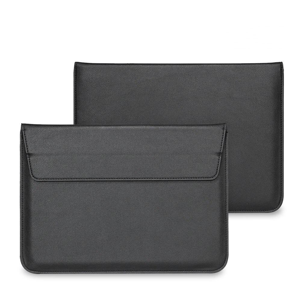 Pour Macbook Air 13 Manches Solide PU enveloppe pochette pour ordinateur portable, pour macbook air 13 manches cas en cuir sac Air retina 11 13 15 A1706
