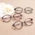 Nova moda retro óculos de aro cheio de mulheres prescrição óculos de miopia TR90 óculos Rxable 8003 (48-20-138)