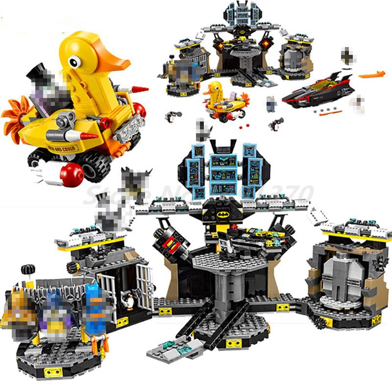 Lepin Batman 07052 Genuine Movie Series The Batcave Break-in 70909 Building Blocks Bricks Toys for Children Christmas Gifts lepin 07052 1047pcs super heroes batman batcave break in diy model building blocks gifts batgirls movie toys compatible 70909