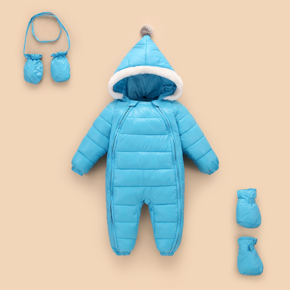 b656f74bf Buy 3pcs sets novatx romper Baby Rompers Winter Jackets Baby Girls ...