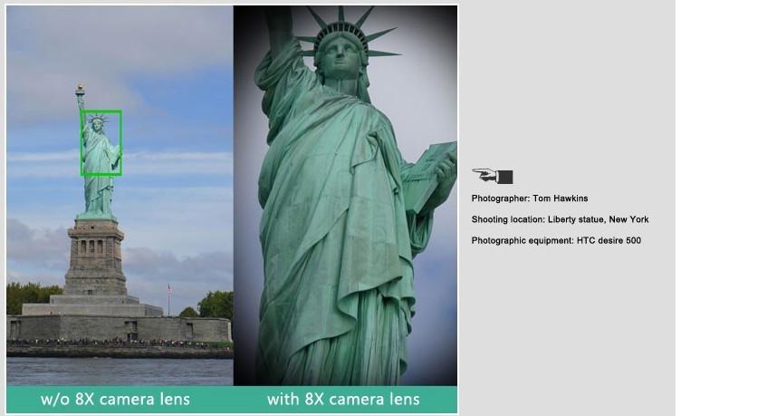 Elecguru Universal 8X Optical Zoom Telescope Camera Lens with Mini Tripod Holder for Mobile iPhone Samsung Galaxy S5 I9600 11