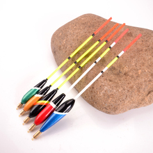 FISH KING Brand 5PCS/Set Bobbers Set Mix Color Size Barguzinsky Fir Floats for Fishing Tackle High Quality Sea Fishing Float