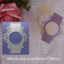 96*78mm 2019 new Halloween and Christmas mirror Dies Metal Cutting scrapbooking dies metal Die Cuts background for gift