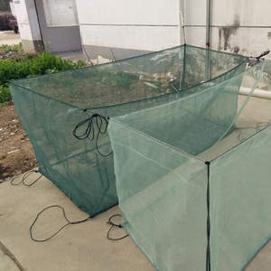 Сетчатый Чехол для выращивания омаров, крабов и угрей, 3 мм (0,12 дюйма)