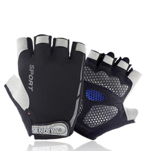Cycling Gloves Half Finger Sports Bicycle Men Women Pad Breathable Motorcycle Road Bike