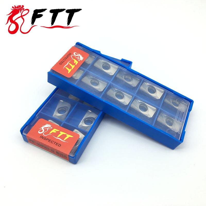 10 SZTUK APMT1604 PDER H2 NX2525 Cermet Grade płytki węglikowe - Obrabiarki i akcesoria - Zdjęcie 3