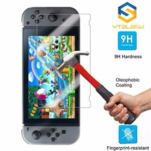 amzdeal Premium Film Screen Protector Anti-Scratch for Nintendo Switch Video Game Console Handheld Controller Durable New Gift