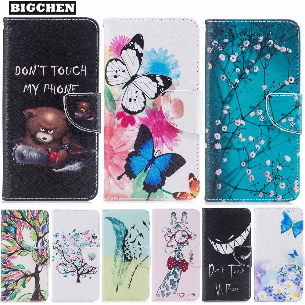 Luxury PU Leather Case For Huawei Y3 2017 Case Flip 5.0 Inch Stand Wallet Cover For Huawei Y3 2017 Cover Capa