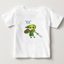 2018 NEW The Legend Of Zelda Cartoon T Shirt Infant Boy/Girl t-shirt Summer Short Sleeve T-shirt O-neck Tees Tops Tshirt   NN цена и фото
