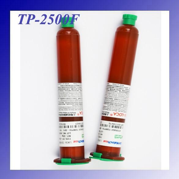 1pcs 100% Original TP-2500F UV Glue LOCA Liquid Optical Clear Adhesive 50g Super Glue for Mobile Outer Glass Len LCD Repair цена и фото