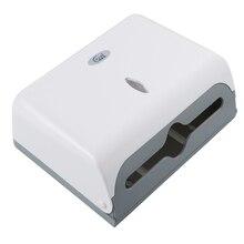 Настенная коробка для салфеток для ванной комнаты контейнер для бумажных салфеток диспенсер для бумажных полотенец коробка для салфеток держатель(белый
