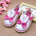 2017 Summer Rabbit Ears Baby Girls Sandals Hollow out Cartoon Infant Girls Summer Shoes Holes Baby First Walkers Size 5.5-8
