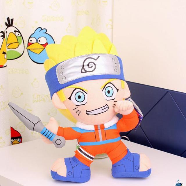 """Бесплатная Доставка 12 """"аниме Наруто Узумаки Наруто Узумаки Наруто Плюшевые Куклы Каваи Куклы Мягкие Игрушки Классические Игрушки для Детей Подарки"""