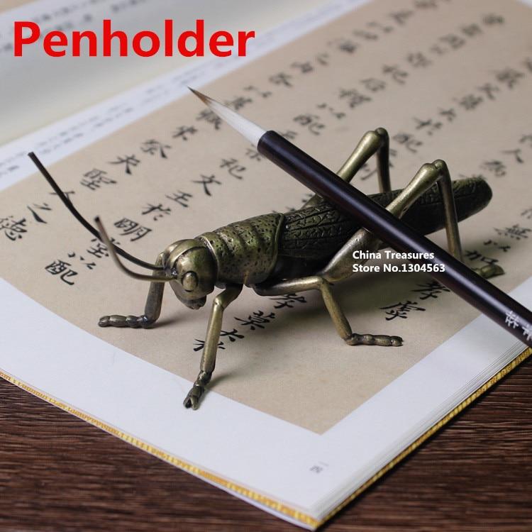 Small size,1 piece Penholder Rack Penholder for Calligraphy Brush Rack Pen Holder Mantis Penholder