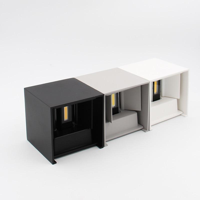 Led Pencahayaan Outdoor, IP65 Adjustable Waterproof Cube Lampu - Pencahayaan luar ruang - Foto 4