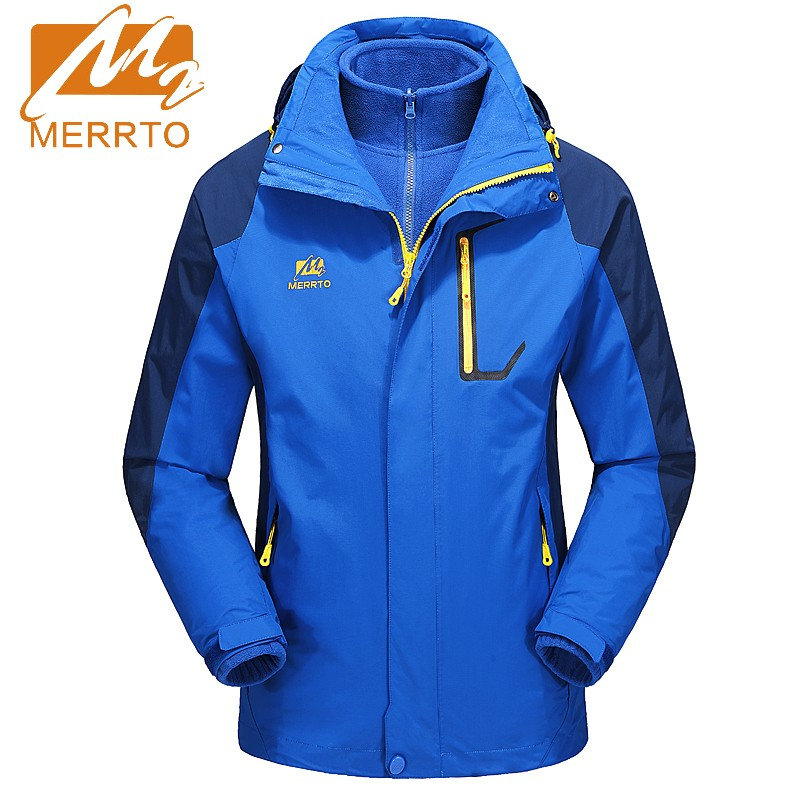 2017 Merrto Mens Outdoor Camping Hiking Jackets Windproof Waterproof Sports Jackets Quick Dry Coat For Men Free Shipping MT19016