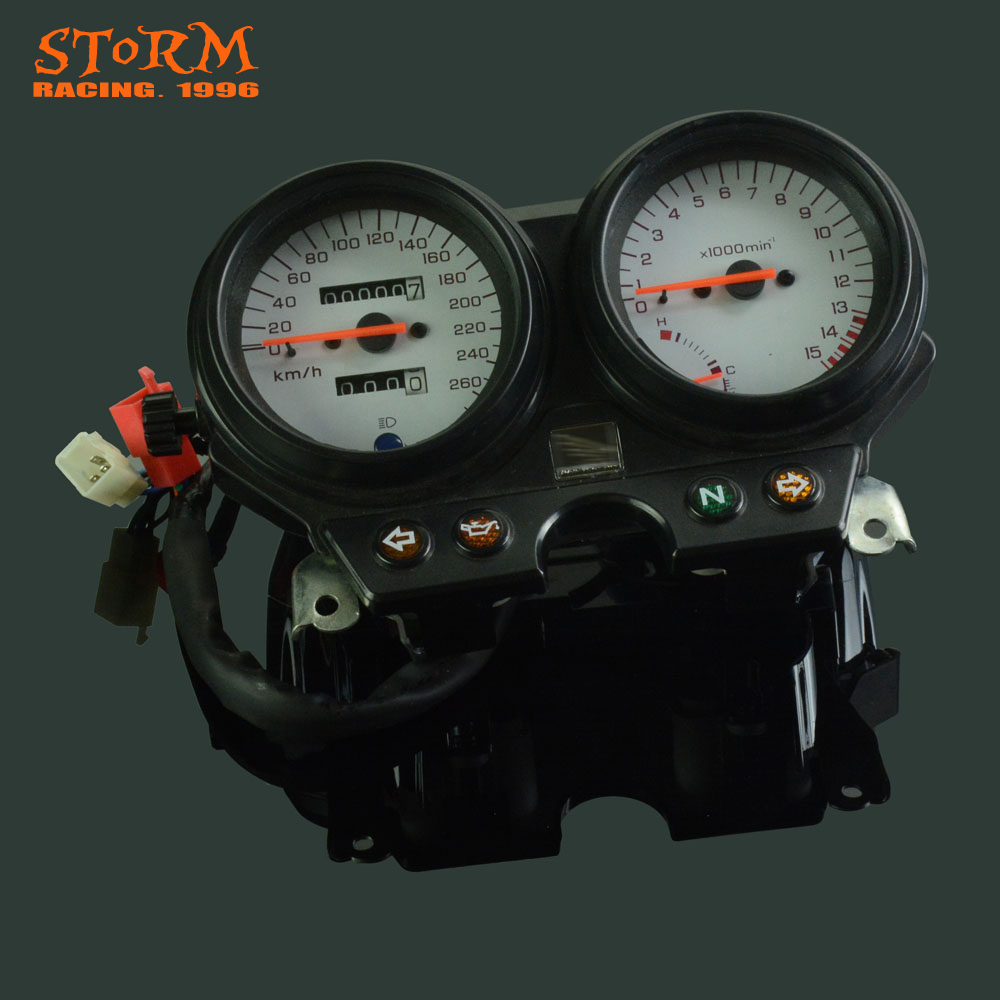 Motorcycle Speedometer Tachometer Odometer Display Gauges For Honda CB600 Hornet 600 1996 1997 1998 1999 2000 2001 2002 motorcycle gauge cluster speedometer for honda cb600 hornet 600 1996 2002 1997 1998 1999 2000 2001 hornet600 new