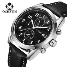 OCHSTIN Chronograph Sport Mens Watches Casual Quartz Wrist Military Army Business Male Clock Horloges Mannen Erkek saatler