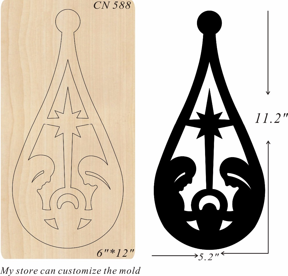 Family party decorations new wooden mould cutting dies for scrapbooking Thickness 15 8mm