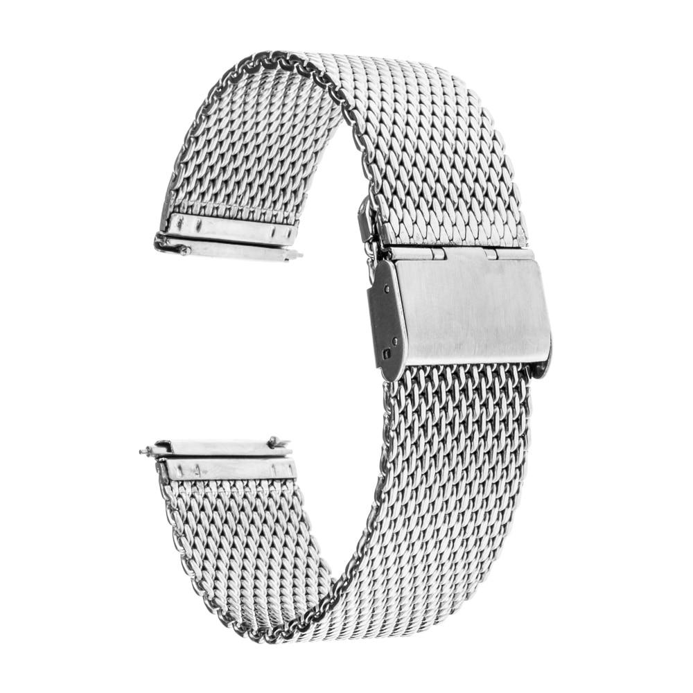 fe954d7a1b0 22mm para Motorola Relógio de Aço Sikai Banda Quick Release Moto 360 2 46mm  2017 Engrenagem R380 R382 R381 Inoxidável Cinta