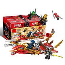 2019 New 6 IN 1 Ninja Knight Enlighten Toy for Children Compatible legoergy Ninjagoergy Building Blocks DIY Bricks for kids gift 1110pcs future knight fort series building blocks diy toy compatible legoinglys with weapons action satellite toy for child gift