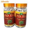 10 Botellas de Fo-ti, Ho Shou Wu 20:1 Extract 500 mg x 900 Cápsulas envío libre