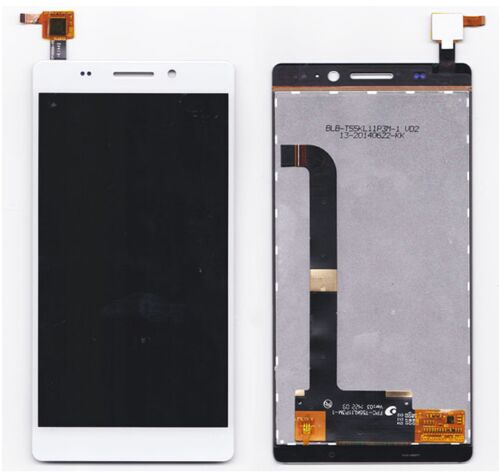 white touch panel For Highscreen Spade LCD Display+Touch Screen Digitizer Panel Assembly Replacement Part Free shipping lcd screen assembly for apple iphone 4 4g lcd display touch screen digitizer pantalla with frame bezel replacement black white