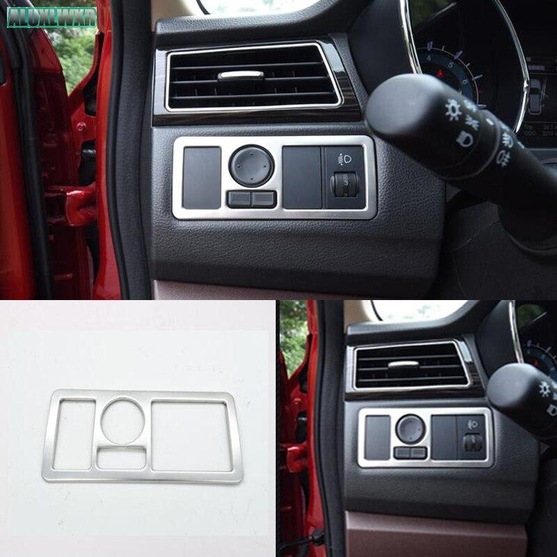 Автомобильные аксессуары для lifan marveii myway 2016 2017 2018 передняя фара кнопка включения литья комилект отделка 1 шт.