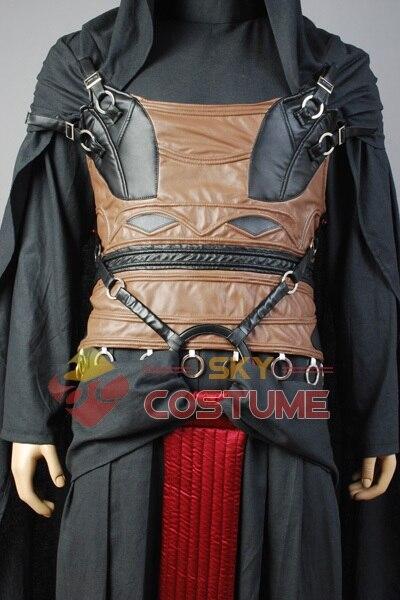 Star Wars Darth Revan Cosplay Kostuum Volledige set Outfit Cape - Carnavalskostuums - Foto 4