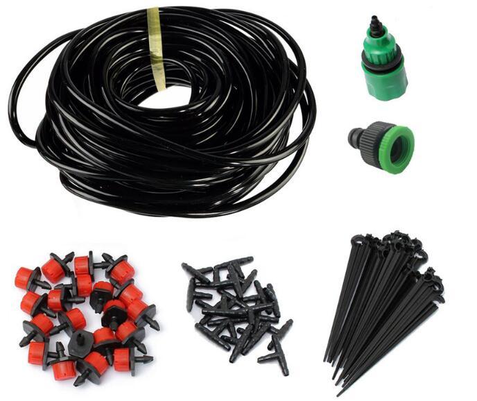 20 m hadice + trysky Systém zavlažování kapací vody Micro Drip Irrigation System