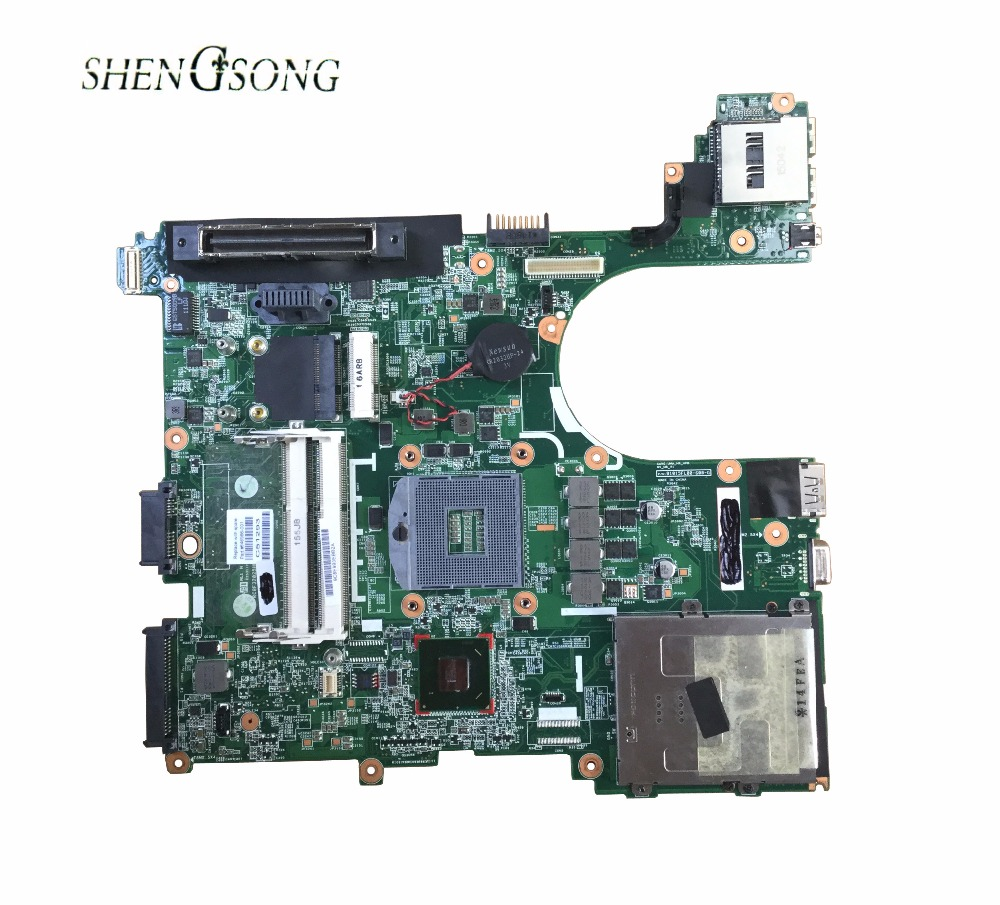 646966-001 Free Shipping for HP 8560P laptop motherboard Notebook PC system board QM67 , 100% working все цены