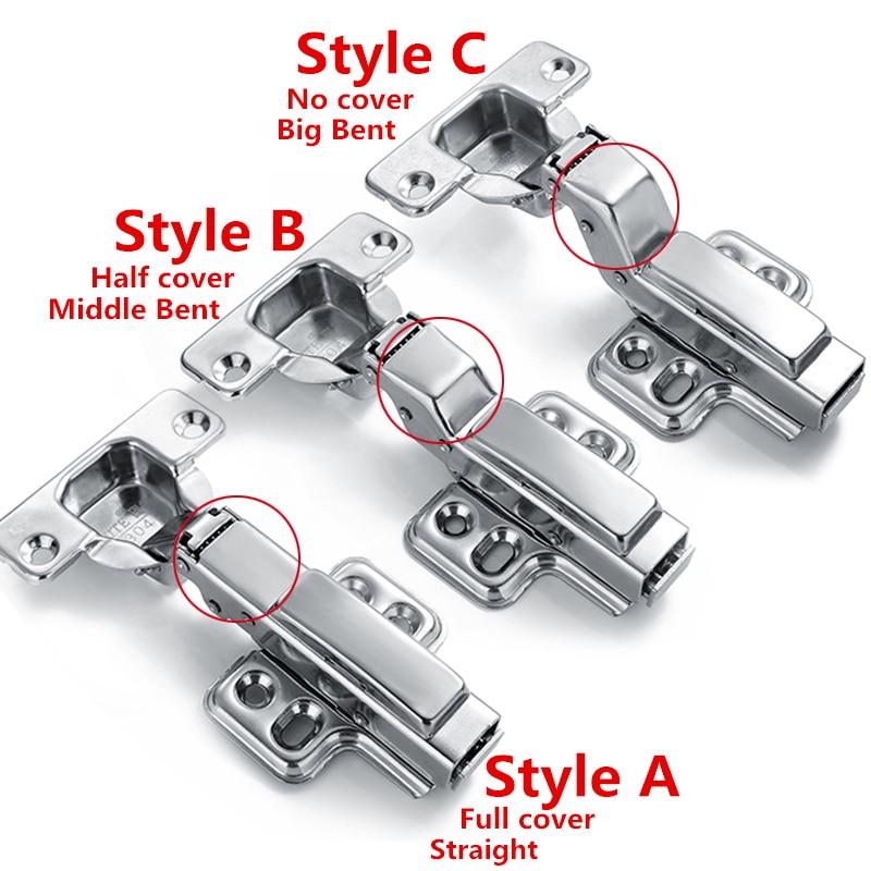 1 Pair Clip on 304 stainless steel hinge, soft close, Brass buffer, hydraulic hinge insert type HG-303C пароварка faust hg 1040 304 24cm