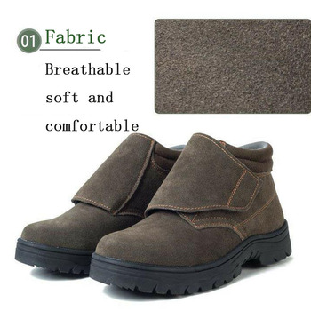 Stivali Da Lavoro Invernali Per Uomo | Scarpe Di Sicurezza Scarpe Di Protezione Di Sicurezza In Acciaio Toe Scarpe Scarpe Per Uomo Scarpe Da Lavoro Da Uomo Impermeabile Formato Calzature Di Inverno Di Usura-resistente DXZ022
