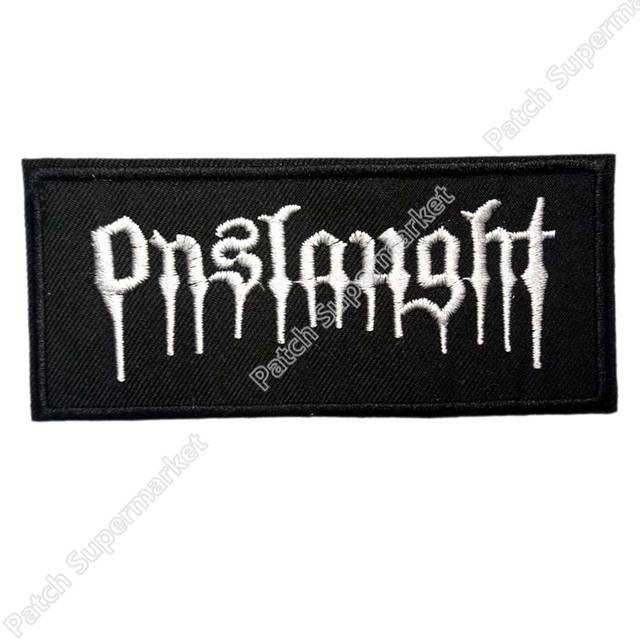 US $16 0 |ONSLAUGHT Music Band Pantera COC Metal Iron On/Sew On Patch  Tshirt TRANSFER MOTIF APPLIQUE Rock Punk Badge clothes stickers-in Patches  from