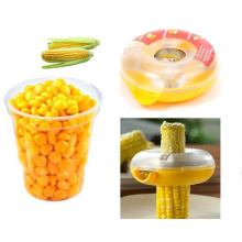 Corn Separator Circle Remove Cob Cutter Peeler Thresher Stripper Kitchen Fruit Vegetable Tools