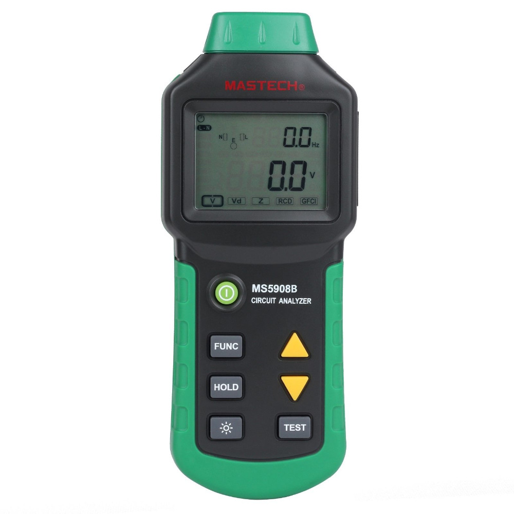 все цены на MASTECH MS5908B TRMS voltage Tester Circuit Analyzer TRMS AC voltage Backlight 220 240V онлайн