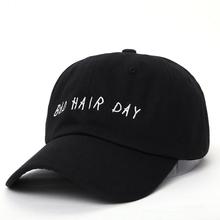 VORON new Bad Hair Day Adjustable Baseball Cap Unstructured Dad Hat 100 Cotton fashion snapback cap