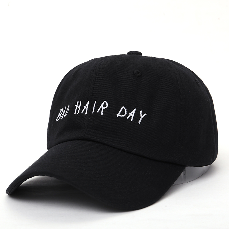 VORON new Bad Hair Day Adjustable Baseball Cap Unstructured Dad Hat - 100% Cotton fashion snapback cap hats
