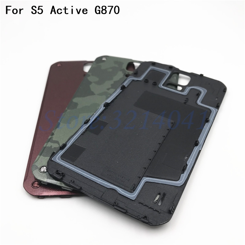 super popular fd4af 72cc5 US $6.74 5% OFF|Battery Back Door Rear Cover For Samsung Galaxy S5 Active  G870 Housing Door Battery Back Cover-in Mobile Phone Housings from ...