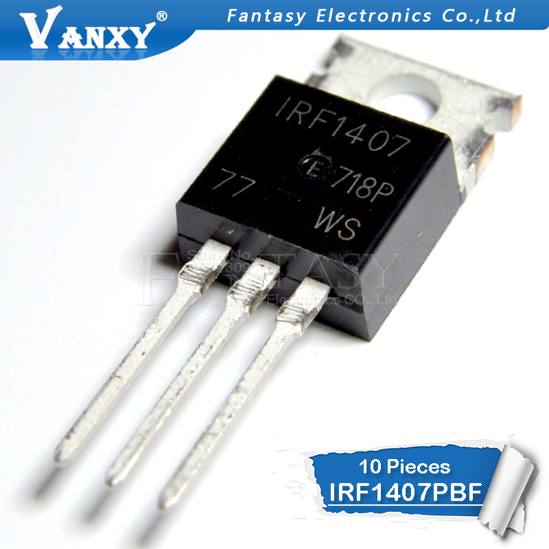 10PCS IRF1407 TO-220 IRF1407PBF TO220