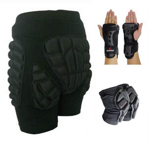 Soared Wrist-Support Roller-Skates Knee-Pads Impact-Shorts Snowboarding Skiing Outdoor