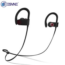 Get more info on the ESVNE IPX7 Waterproof 5.0 Bluetooth earphone Noise Cancelling HiFi Stereo Wireless headphones Sports Headset Earbuds for Phone