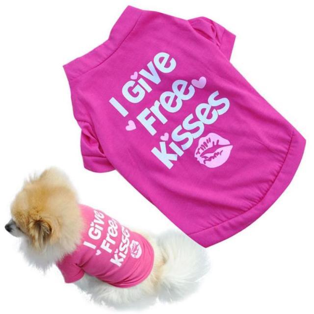 Pet Blue/Pink Summer Shirt